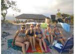 Dania, Whitby, Brook, Abby, Harrison, and Naama at Nimitz