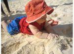 Harrison at Lanikai Beach