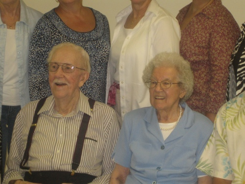 Grandpa Main, 93, and Grandma Main, 89